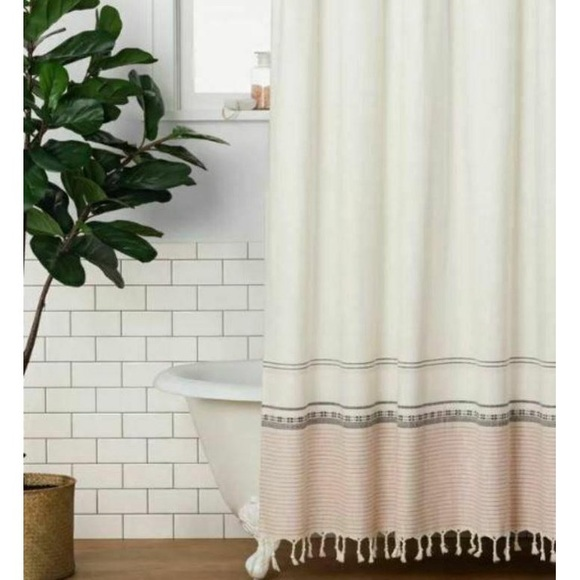 Hearth & Hand by Magnolia Ombree Shower Curtain